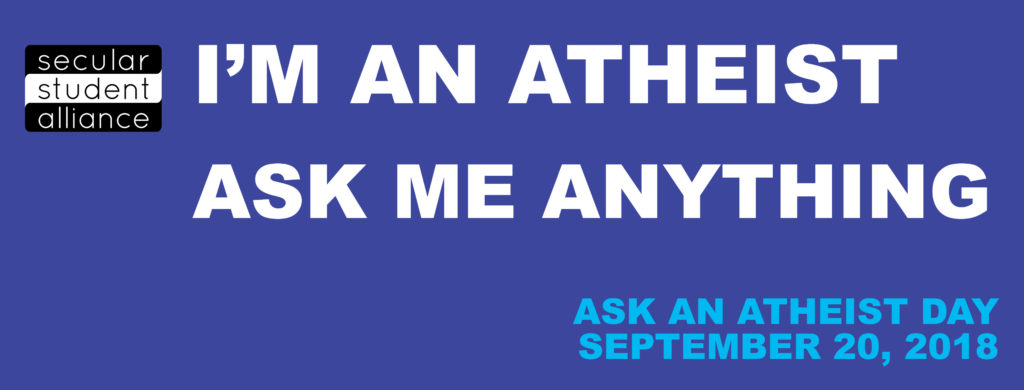 Ask Atheist Day - Facebook Cover Image 2018
