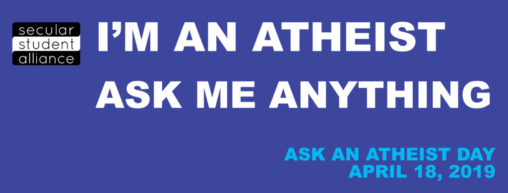 Ask Atheist Day - Facebook Cover Image S2019