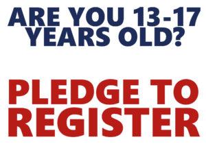 pledge to register