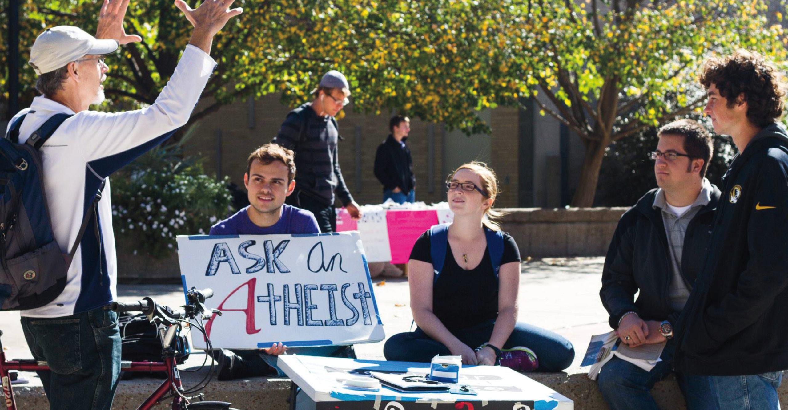 ask atheist social media